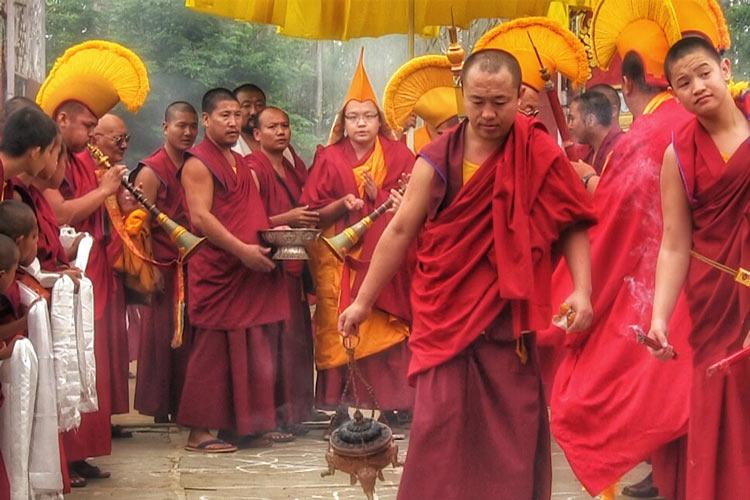 Kyabje Khyungser Trichen Rinpoche Gaden